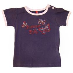 Granatowa bluzka dziewczęca
