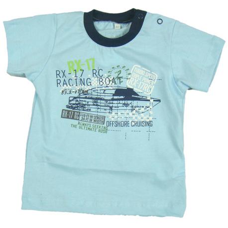 T-shirt chłopięcy Motorowka