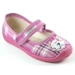 Kapcie dla dziewczynki - kotek