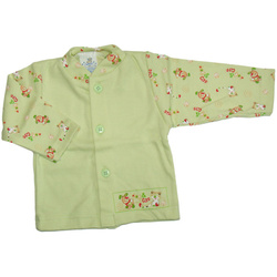 Kaftanik niemowlęcy Plastuś zielony