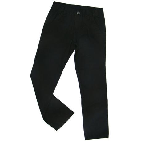 Spodnie chłopięce czarne wizytowe