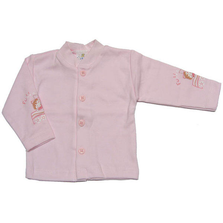 Kaftanik niemowlęcy MIŚ różowy